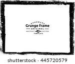 grunge frame   abstract texture....   Shutterstock .eps vector #445720579