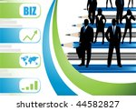 business people | Shutterstock .eps vector #44582827