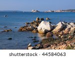 wild coast of the la maddalena... | Shutterstock . vector #44584063