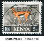 kenya   circa 1964  animals....   Shutterstock . vector #44586748