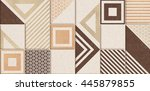 the tiles are the good texture...   Shutterstock . vector #445879855