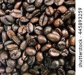 coffee beans | Shutterstock . vector #445893259