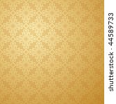 seamless damask background... | Shutterstock . vector #44589733