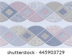 the tiles are the good texture... | Shutterstock . vector #445903729