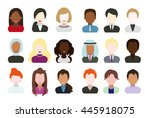 illustration   the people... | Shutterstock .eps vector #445918075