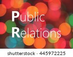 Public Relations  Pr  Text On...