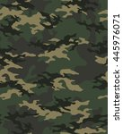 fashionable camouflage pattern  ... | Shutterstock .eps vector #445976071