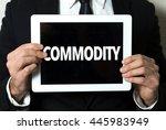 commodity | Shutterstock . vector #445983949