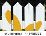wooden fence | Shutterstock . vector #445988311