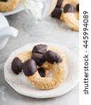 Small photo of Almond crescent cookies