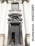 Small photo of Portal of the Church on Skalka, Pauline Fathers Monastery, Krakow, Poland