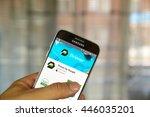 montreal  canada   june 23 ... | Shutterstock . vector #446035201