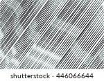 grunge lined vector texture | Shutterstock .eps vector #446066644