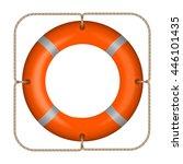 icon lifebuoy vector | Shutterstock .eps vector #446101435
