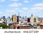 new york skyline   usa | Shutterstock . vector #446107189