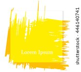 brush strokes for your text ... | Shutterstock .eps vector #446140741