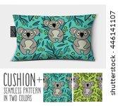 design vector pillow  cushion . ... | Shutterstock .eps vector #446141107