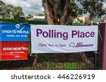 melbourne  australia   july 2 ...   Shutterstock . vector #446226919