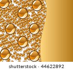 beautiful decoration water... | Shutterstock . vector #44622892