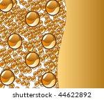 beautiful decoration water... | Shutterstock . vector #44622892