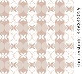 seamless pattern. classical... | Shutterstock .eps vector #446342059