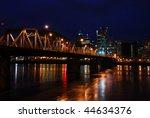 historic hawthorne lift bridge... | Shutterstock . vector #44634376