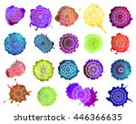 Ornament Color Set Card With...