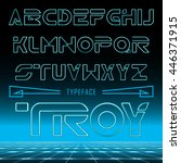 Troy Retro Font   Gradient...
