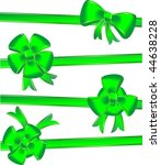valentine bow decoration  ...   Shutterstock .eps vector #44638228