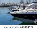 Yachts And Boats In Coast...