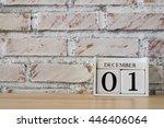 december 1st. image of december ... | Shutterstock . vector #446406064
