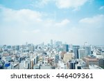 business concept   panoramic... | Shutterstock . vector #446409361
