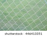mesh football goal | Shutterstock . vector #446413351