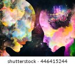 color profiles series. backdrop ... | Shutterstock . vector #446415244