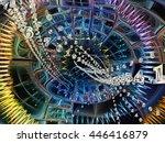 into infinity series....   Shutterstock . vector #446416879
