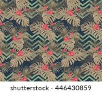 seamless pattern  with... | Shutterstock .eps vector #446430859