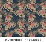 seamless pattern  with... | Shutterstock .eps vector #446430889