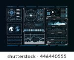 human user display | Shutterstock . vector #446440555