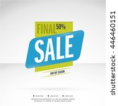 super sale and special offer.... | Shutterstock .eps vector #446460151