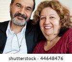 Portrait Of Two Mature Jewish...