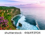 View Of Uluwatu Cliff With...