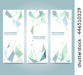 business design templates. set... | Shutterstock .eps vector #446510329