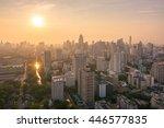 bangkok thailand   april 2016   ... | Shutterstock . vector #446577835