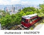 Peak Tram And Hong Kong City...
