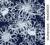 flower seamless pattern....   Shutterstock .eps vector #446600035