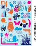 cartoon collection | Shutterstock .eps vector #44661826
