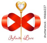 infinite love | Shutterstock .eps vector #44666227