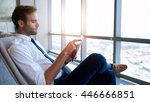 young corporate executive...   Shutterstock . vector #446666851
