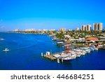 Daytona Beach In Florida Aeria...