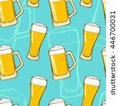 Beer Seamless Pattern....